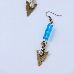 Jewelry - Caught in Turquoise Boho Earrings.
